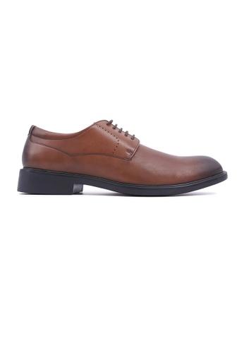 Hanson Bootmaker brown Hanson Bootmaker LacEasy Derby - Brown A7EE6SH496A3EDGS_1
