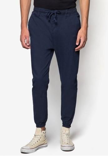 彈性束腳運動esprit hk store長褲, 服飾, 長褲