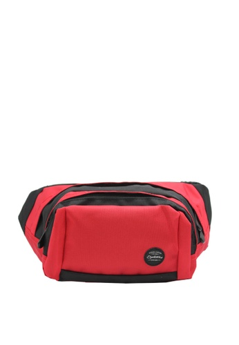 OPTIONS black and red Trail Waist Pouch 98521AC0BCEEECGS_1
