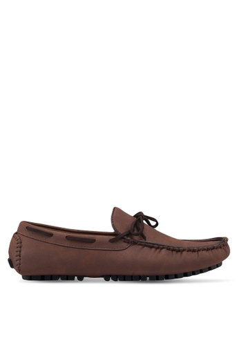 High Cultured brown Casual Loafers 317 1A9EDSHEDB20EFGS_1