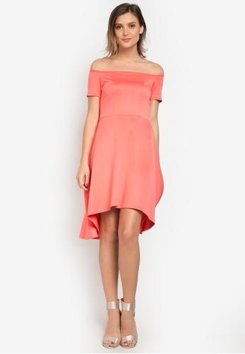 Huxley pink Hernella Dress HU539AA0KB5LPH_1