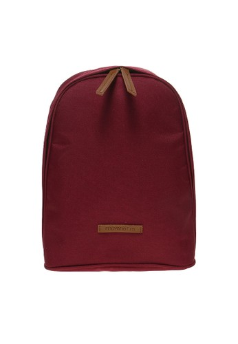 MYNT by Mayonette Connor Backpack Canvas - Maroon - Red