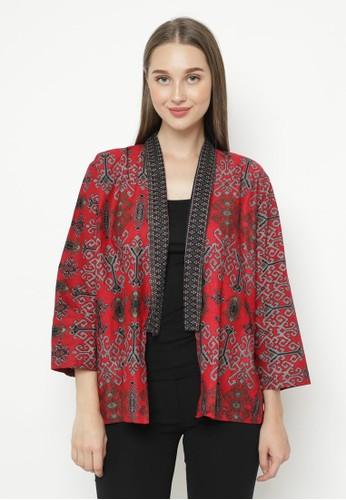 WINGGO red WINGGO Kesya Batik Outer Red BCF4CAA78A62F3GS_1