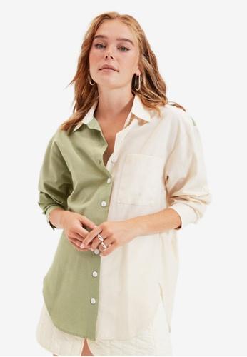 Trendyol green Mint Shirt 2E8F5AAF3C3003GS_1