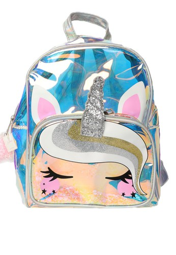 STROBERI n/a Stroberi Unicorn Hologram Shaker Backpack C51EBKCBA506E3GS_1
