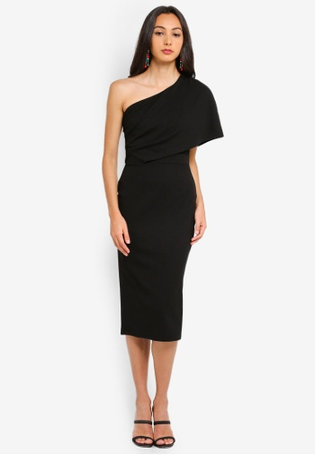 f8643938e34b Shop MISSGUIDED One Shoulder Midi Dress Online on ZALORA Philippines