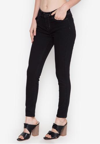 Stylistic Mr. Lee black Ladies Super Skinny Pants (Mid Rise) MR206AA0K405PH_1
