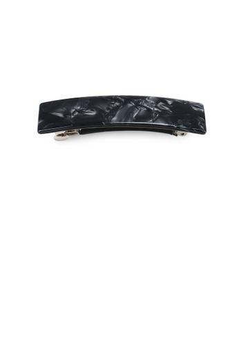 Glamorousky black Fashion Temperament Black Pattern Geometric Hair Slide 9E868AC75E7F71GS_1