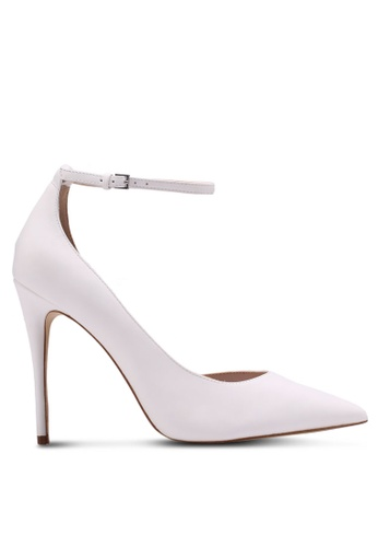 ALDO white Staycey Heels 7CD8DSH0E92A63GS_1