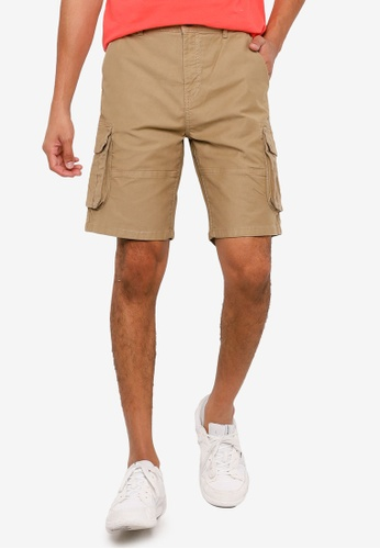 Springfield beige Cargo Bermuda Shorts 1E2E7AAD00D7A3GS_1