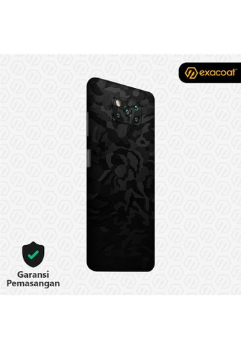 Exacoat Poco X3 Pro / NFC Skins 3M Skin / Garskin - Camo Series - Black Camo A9B79ESE96E42FGS_1
