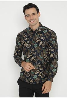 Pakaian Batik Print Pria Modern Online Beli Di Zalora Indonesia