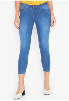 018c60524e REDGIRL blue Cropped Skinny Jeans 2085EAAF807FFBGS_1