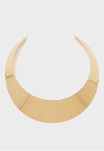 Berrybenka Label gold Kori Necklace Gold 6296AACD1D9AB1GS_1