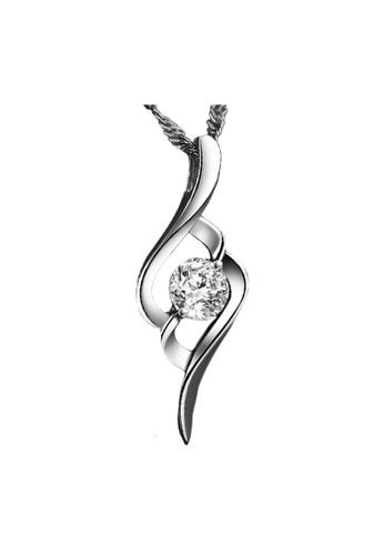 Elfi silver Elfi Genuine 925 Sterling Silver Necklace Pendant SP76 EL186AC0RWDAMY_1