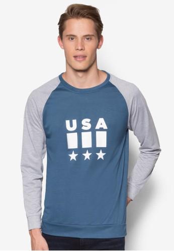 USA 拉克蘭長袖上衣, 服飾,esprit holdings limited 運動T恤