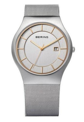 Bering gold Classic 11938-001 Gold 35 mm Men's Watch D96EBAC8948223GS_1