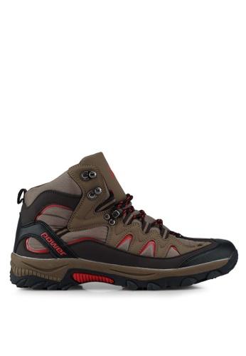 Power brown High Top Outdoor Shoes C9329SHA220DE0GS_1