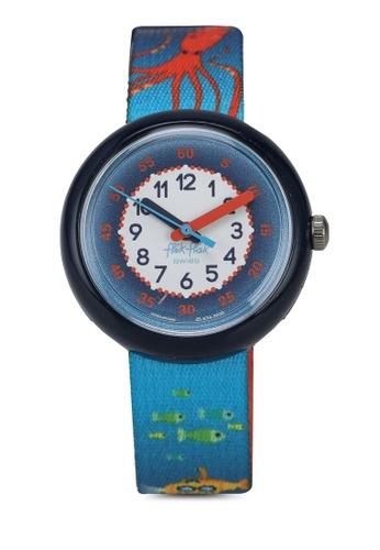 Flik Flak blue Sea La Vie Watch 5B411KCD5BF6C2GS_1