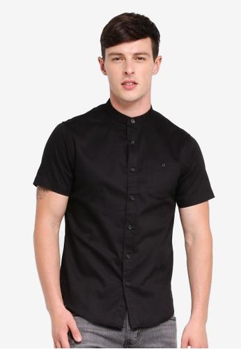 Brave Soul 黑色 Short Sleeved Twill Shirt 3B00BAA81BF587GS_1