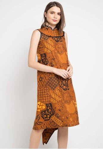 Batik Putra Bengawan multi and brown Dress Kp Olli Sk Jg Sg Pb 494CBAAB56B7D4GS_1