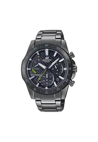 Casio grey CASIO EDIFICE EQS-930DC-1AVUDF MEN'S WATCH 2AA3FACE0AC625GS_1