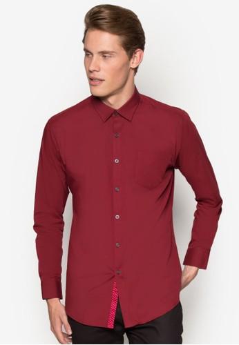 基本款修身長袖襯衫esprit童裝門市, 服飾, 襯衫