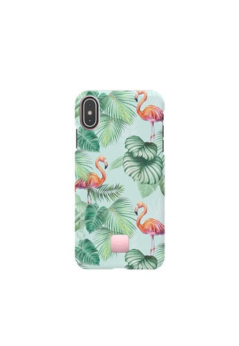 """happy plugs pink and green Happy Plugs for iPhone XS Max (6.5"""") - Pink Flamingos CBFEEACB73EB1FGS_1"""