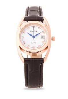 Leather Analog Watch M-835