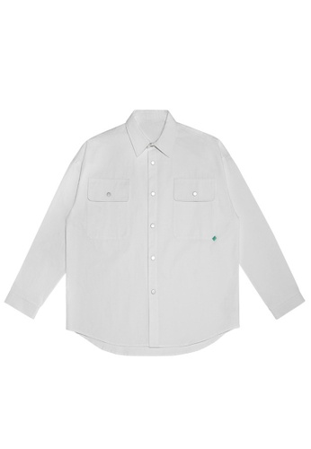 Twenty Eight Shoes Overshirt With Pockets 2092W20 FAC3AAA3C5D0C9GS_1