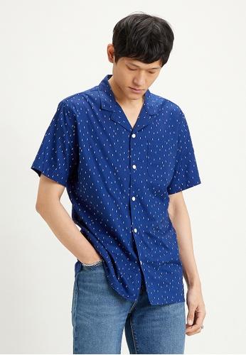 Levi's blue Levi's Classic Camp Shirt 21976-0023 F030BAA3492B04GS_1