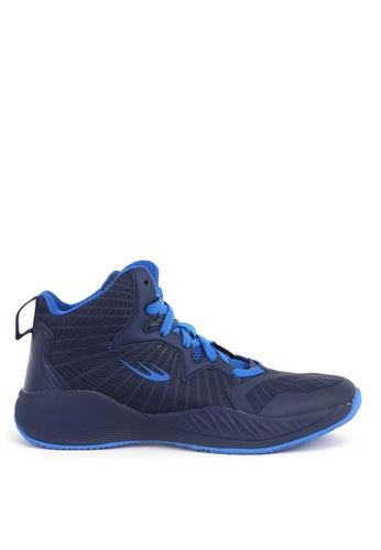 World Balance blue Court Hustle Mens Basketball Shoes A3F44SHFA18AB9GS_1
