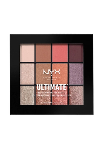 NYX Professional Makeup multi NYX Professional Makeup Ultimate Multi-Finish Shadow Palette - SUGAR HIGH D4358BECB42577GS_1