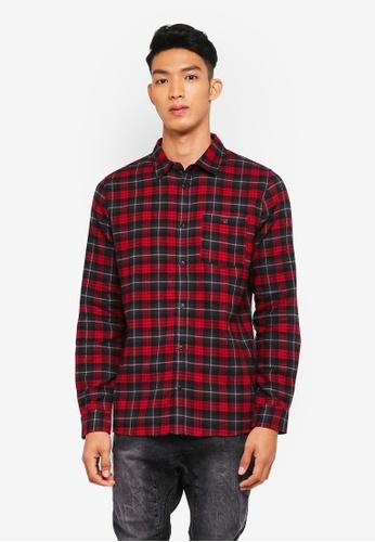 Cotton On 多色 格紋長袖襯衫 11015AA7E323F1GS_1