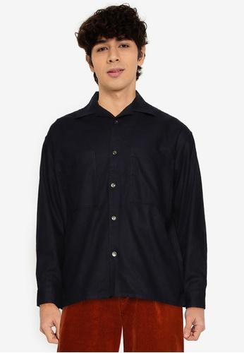 niko and ... blue Classic Long Sleeves Shirt 93F92AA0ECA054GS_1