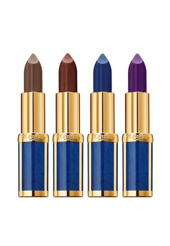 L'Oréal Paris L'Oreal Paris x Balmain Color Riche Lipstick - Rock Collection (FREE Color Riche La Palette Eyeshadow) BA837BE0SR6UMY_1
