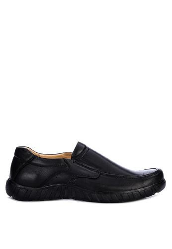 Gibi black Hmc 1010 Slip-On Shoes 91AD5SHE6A51F6GS_1