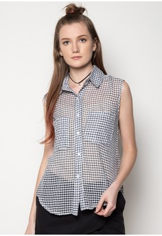 Collared Bls Top