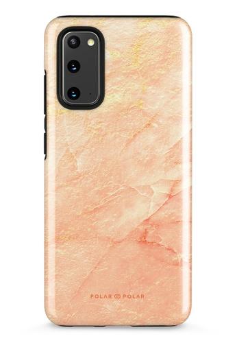 Polar Polar pink Sunset Samsung Galaxy S20 5G Dual-Layer Protective Phone Case (Glossy) 0CF84AC2B6F399GS_1