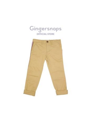 Gingersnaps beige East Hampton Dude Pants Caramel F8B4EKA00F5135GS_1