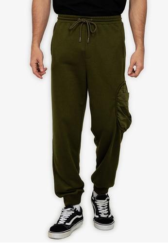 ZALORA BASICS multi Side Pocket Track Pants 4DE30AA60EEEBAGS_1
