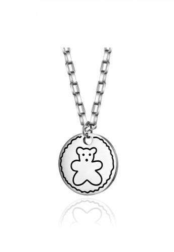 HAPPY FRIDAYS Cute Bear Necklace JW QF-DZ320 FEBA0AC208A35EGS_1