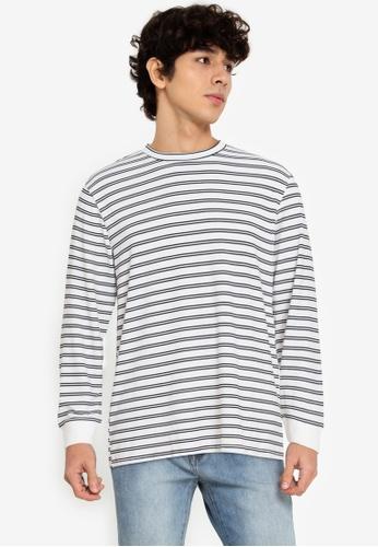 ZALORA BASICS multi Striped Long-Sleeve T-Shirt C17FFAA9113077GS_1