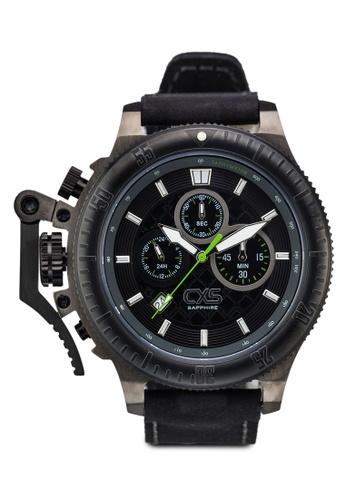 Carlo Cardini black and gold Carlo Cardini CX5 001G-RG-4 Gents Watch CA038AC47LEEMY_1