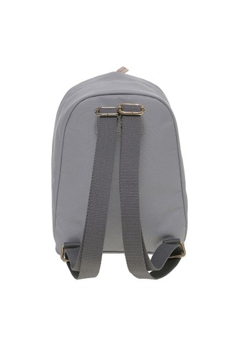 Jual MAYONETTE MYNT by Mayonette Connor Backpack Canvas Grey Original | ZALORA Indonesia ®