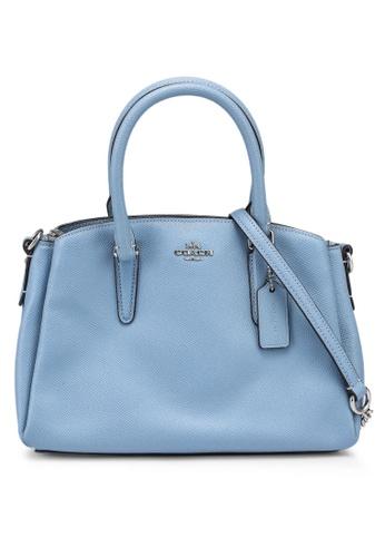 Coach blue Mini Sage Carryall Bag (cv) 5F2E4ACBF97FA0GS_1