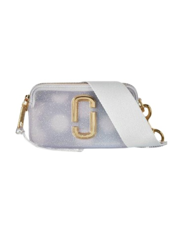 Marc Jacobs blue Marc Jacobs The Jelly Snapshot M001483 Glitter Crossbody Bag In Silver Multi 46ECFACFBC0ECAGS_1