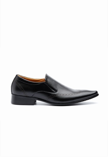 Kings Collection black Cavanaugh Loafer FA239SHBFFB3A4GS_1
