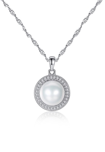 A.Excellence white Premium White Pearl Elegant Necklace 597B6ACAC8F451GS_1