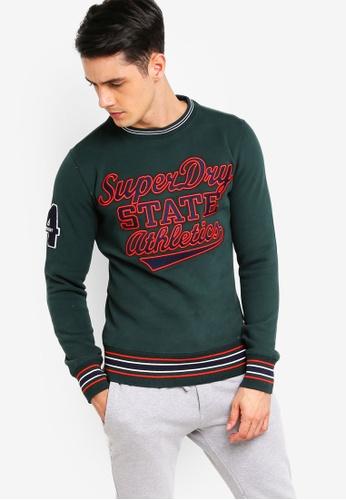 Superdry 綠色 品牌棉T 6342CAA8258290GS_1